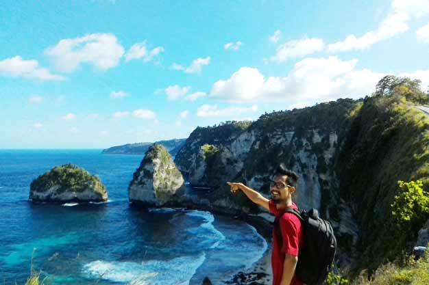Pulau Seribu Si Raja Ampat dari Nusa Penida Bali